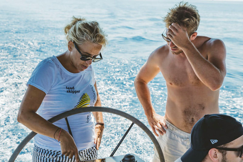 SailWeek Skipper Academy instructors will guide you through exercises, tips and tricks, giving you constant feedback until you are ready to fully take over the control