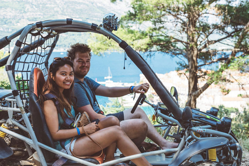 Renting quads on Korcula is the best way to explore the island