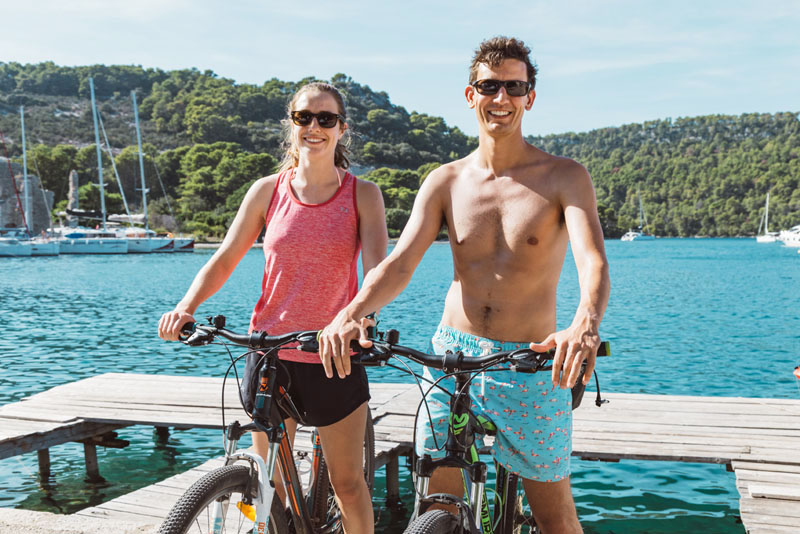 Extra activities, renting bikes and scooters are available on SailWeek Croatia