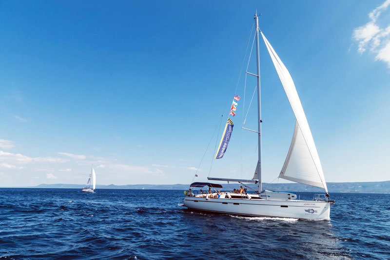 Skippers operate as a freelance contractors and can accept or reject any work SailWeek offers