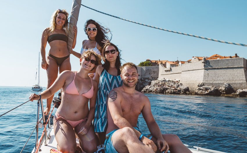 Dubrovnik, the pearl of the Adriatic is one of the highlights of Adventure SailWeek